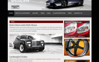 Digital Marketing and Web Design for #1 car wrapping company in Sydney - PROvinyl