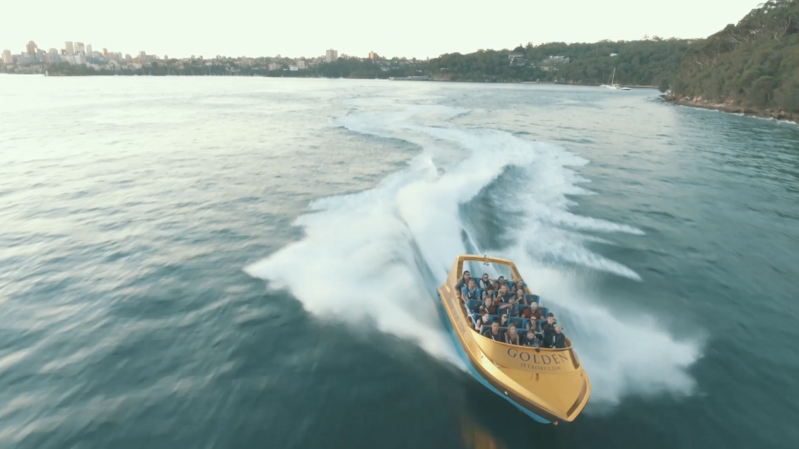 Gold Jet Boat - Commercial Video