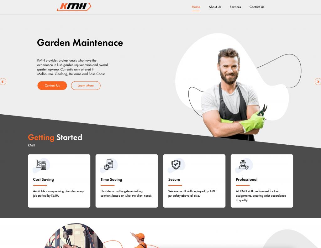 KMH Web Design