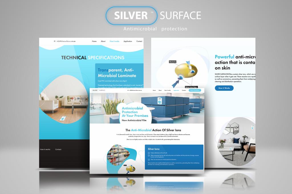 Silver Surface Website Development