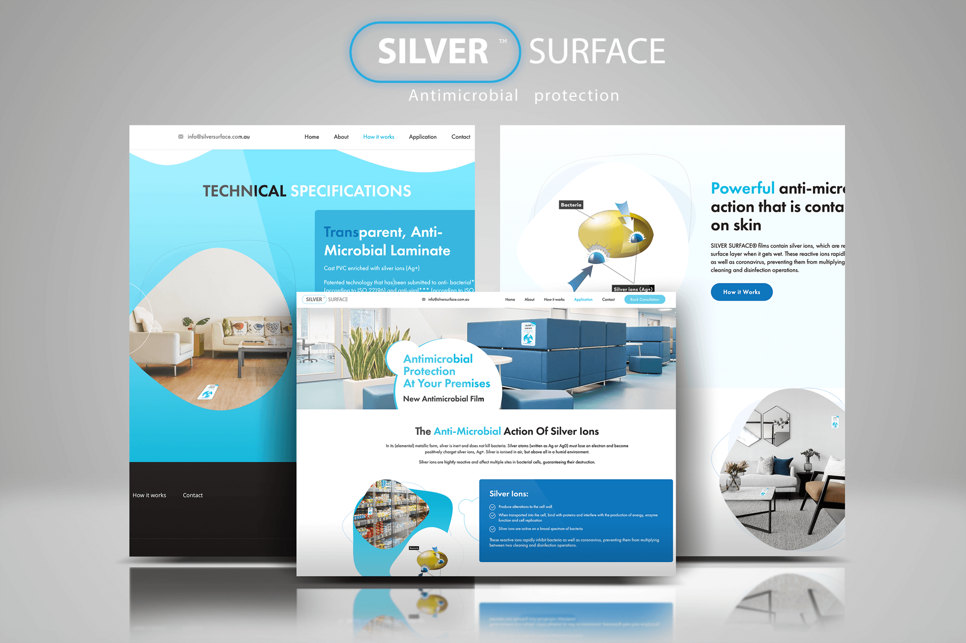 Silver Surface Website Development