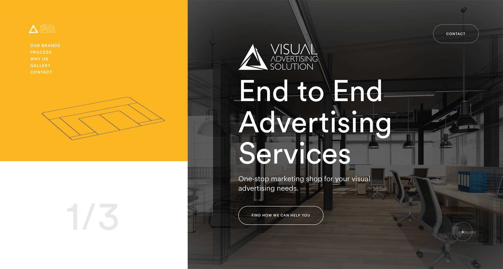 Visual Advertising Solutions Web Design